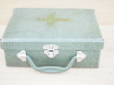 VINTAGE OLD SMALL SIZE SUITCASE, OLD CASE (i214)