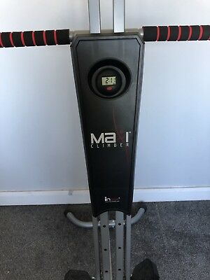 MaxiClimber Vertical Climber Home Adjustable Exercise Fitness Workout Machine -