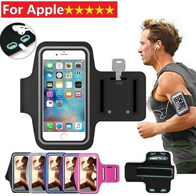 Sports Armband Running Case Jogging Cover For Apple iPhone X 5 6S 7 plus iTouch6