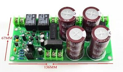 LJM Rectifier filter Power Supply Board With speaker protection for Amplifier