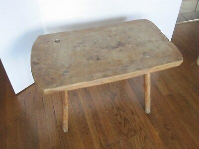 antique/primitive small wooden table