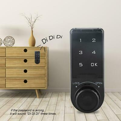 Touch Keypad Lock Cabinet Door Coded Lock Digital Electric Locker Without Key