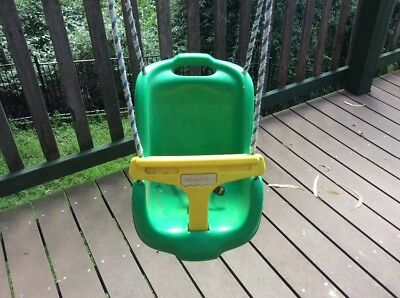 Fisher Price Toddler Child Baby Swing With Seat Belt, Hooks Complete Setup