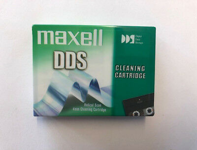 maxell HS-4/CL DDS 4mm Cleaning Cartridge NEU + OVP