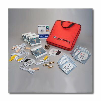 Pack of 4 AED Practi-Trainer Essentials CPR defibrillator training units, WNL#