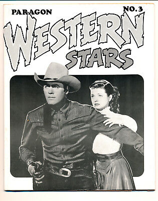 PARAGON WESTERN STARS No.3 - 1975- Signed by BILL BLACK- RARE- PARAGON PUBS