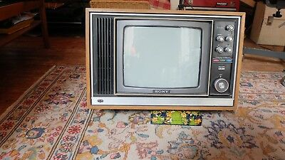 Cool retro 1960/1970's Sony Triniton colour tv