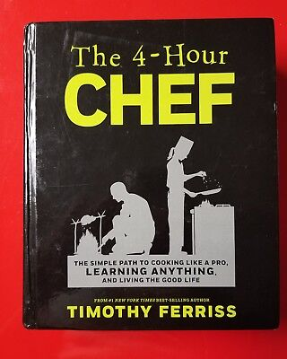 The 4 Hour Chef CookbookTimothy Ferriss New Book The Four Hour Chef Cook Book