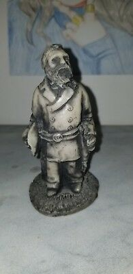 Small Creepy Confederate Soldier Statue made by the Georgia Marble Company