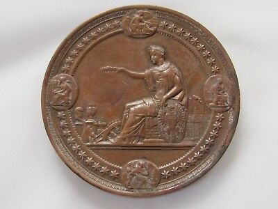 "Rare 1876 Worlds Fair Bronze Award Metal ""Philadelphia International Exhibition"