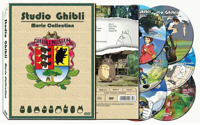 New Original Japan Studio Ghibli Collection Movies Box Set ENGLISH Dub&Sub