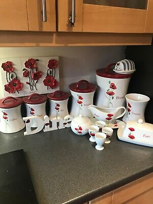 Poppy Kitchen Ware Set