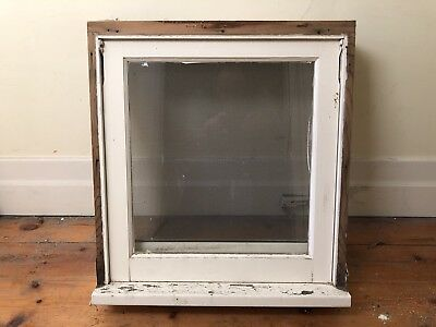 Timber Awning Window, Wind-Out, 601x606, Clear Glazing, Good Condition (1of2)