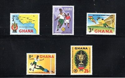 Ghana 1959 West African Football Competition SG 228/32 MUH
