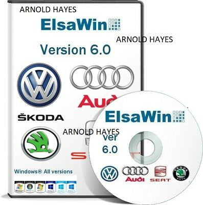 2018 elsawin6.0 FULL Workshop Service & Repair Manual FOR VW SKODA AUDI SEAT DVD