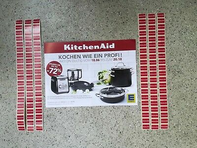 120 lose EDEKA Treuepunkte von KitchenAid