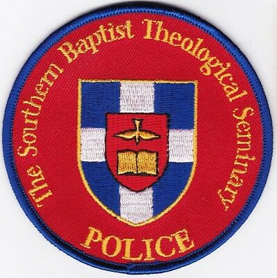 The Southern Baptist Theological Seminary Police Louisville Kentucky patch