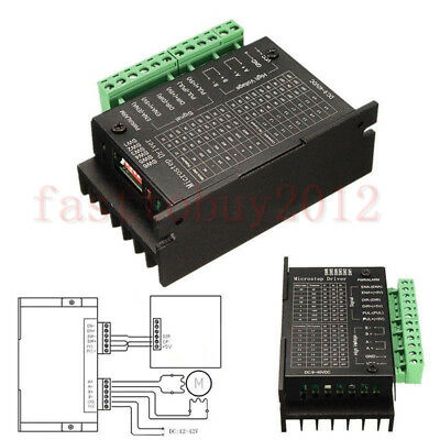 TB6600 4A Stepper Motor Driver 9~40V Micro-Step for Nema17 Nema23 Steppers Motor