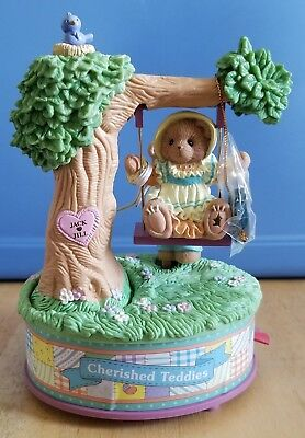 NEW Cherished Teddies - Picnic In The Park -  Multi-Action Musical - 729698