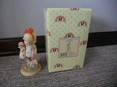 Vntg 1999 Enesco Memories of Yesterday Nothin' As Nice As A Brand New Friend IOB