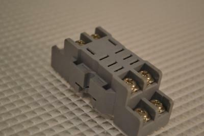 One Used Lot Of 3 Idec Relay Bases Sh2B-05.