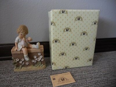 Vintage 1990 Enesco Memories of Yesterday Jus' Thinkin' Bout You IOB