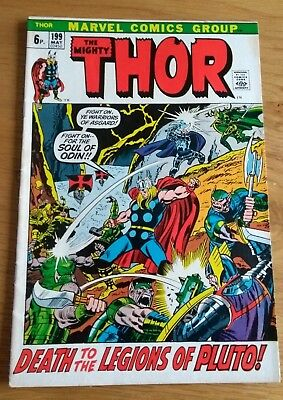Thor 199 High grade issue Feat Hela and 1st app Ego Prime