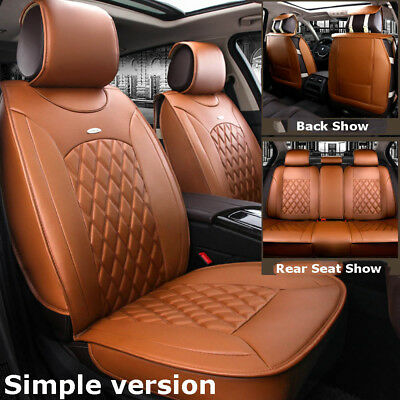 Simple Edition Car Micorfiber Leather Seat Covers For Toyota Camry Corolla RAV4