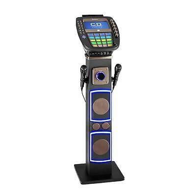 "auna KaraBig karaokemachine bluetooth led 7"" TFT CD USB build-in speaker"