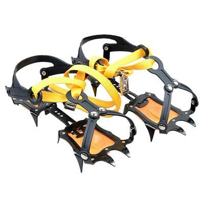 1 Pair Mountain Boots Ice// Snow Crampons Teeth 4 Covers Rainy Day T6W9