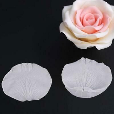 Silicone Petal Flower Mold Fondant Cake Chocolate Icing Mould Sugarcraft veiner