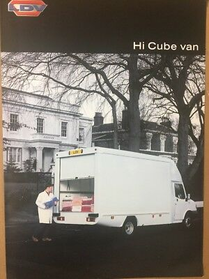 Car Brochure - 2000 LDV Convoy Hi Cube Van - UK