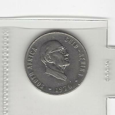 South Africa  50 cents 1976 Fouche