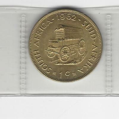 South Africa 1 cent 1962