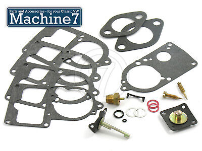 Classic VW Beetle Engine Carburettor Gasket Kit 30 31 34 Pict-3 Solex T2 Camper