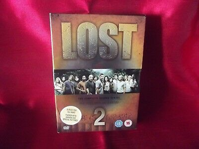 Lost - The Complete Second Season - The Extended Experience - dvd boxset