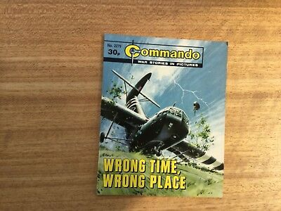Commando War comic -No 2279 Wrong Time, Wrong Place.