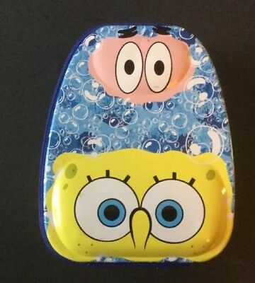 Spongebob Squarepants Retro Metal Lunch Box Tin Tote Sponge Bob Collectible