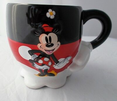 Disney Parks Minnie Mouse 3D Mug Cup Official Disney Item Rare Collectible