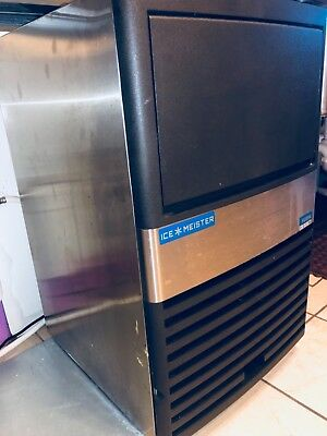 Ice Meister 85 lb Cube Ice: Undercounter Commercial Ice Maker Machine