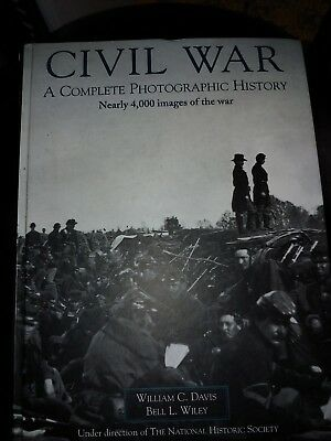 Civil War A Complete Photographic History w/ 4000 Photos