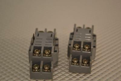 One Used Lot Of 2 Furnas Relay Sockets 46S895.