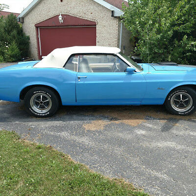 1970 Ford Mustang Deluxe 1970 Mustang Shaker Convertible 1 of 174 Produced