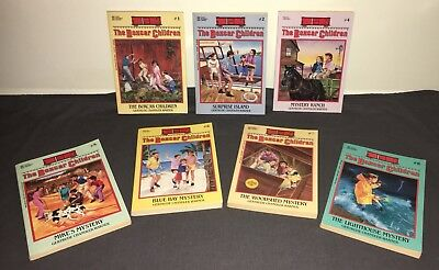 Book Lot Boxcar Children Young Adult Children's Fiction Mystery