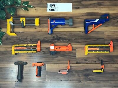 NERF N-Strike Elite, Modulus, Raider, Recon, Retaliator, Grip Attachments