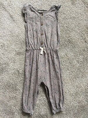 Baby Girls All In One Romper Jumpsuit Size 6-9 Months NEXT