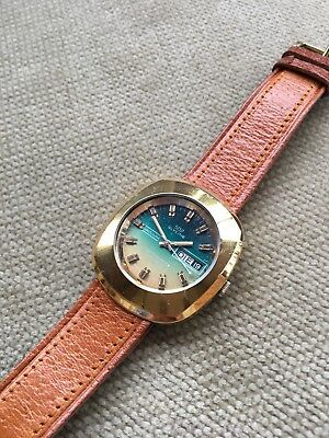 Rare Vintage Glycine Vacuum High Frequency 343.132 Swiss Automatic Mens Watch