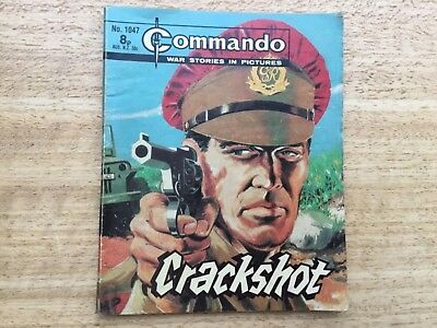 Commando War Comic - No 1047 Crackshot