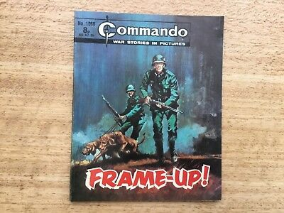 Commando War Comic - No 1068 Frame-Up
