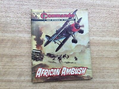 Commando War Comic - No 1072 African Ambush